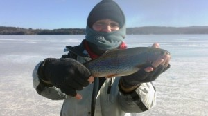 lake winnisquam ice fishing