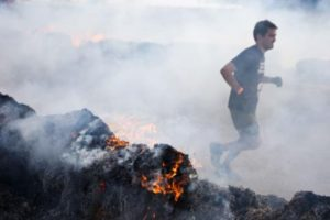 tough mudder fire