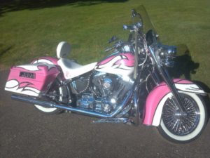 Breast Cancer Bike