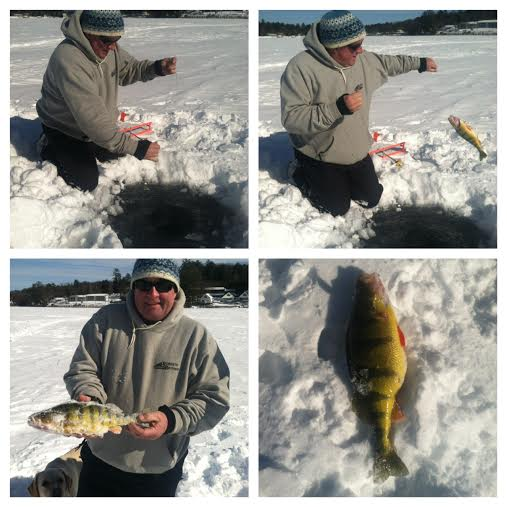 The great rotary ice fishing derby the lake house at for Lake meredith fishing report