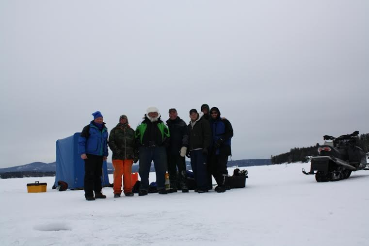 The great rotary ice fishing derby the lake house at for Ice fishing derby game