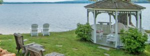 lakefront gazebo for wedding ceremonies