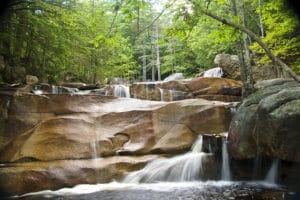 Diana's Baths waterfall